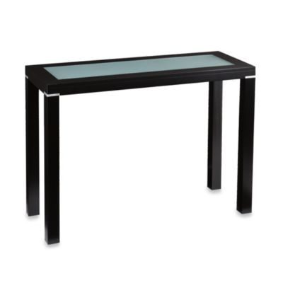 Edenbridge Console End Table in Black