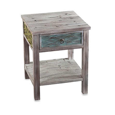 Finchley End Table in Multicolor