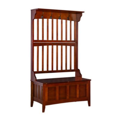 Linon Home Hall Tree with Storage Bench