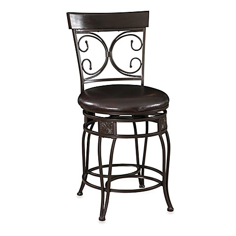 Powell The Big And Tall Back To Back Scroll Stool Bed