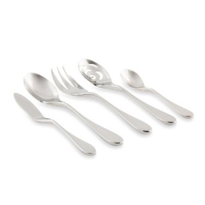 Knork® Flatware Glossy 5-Piece Serving Set
