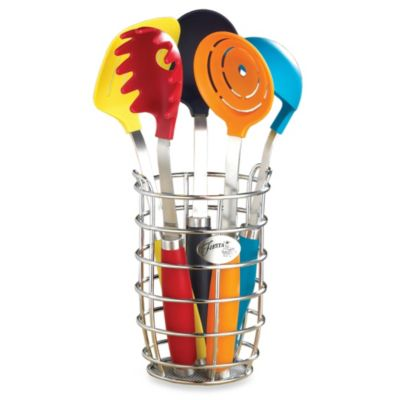Fiesta® 6-Piece Utensil Set with Crock