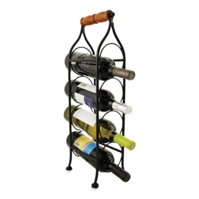 Climbing Tendril 4-Bottle Wine Rack