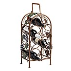 Cascade Vineyard 7-Bottle Wine Rack