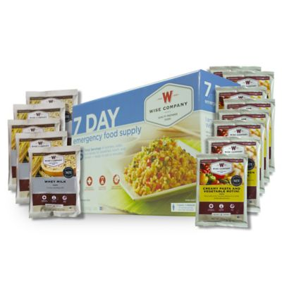Wise Foods Company 7-Day Emergency Food Supply