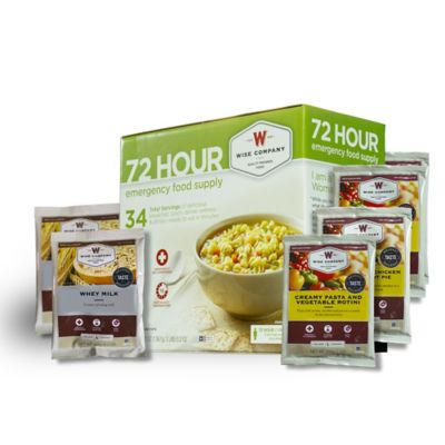 Wise Foods Company 72-Hour Emergency Food Supply