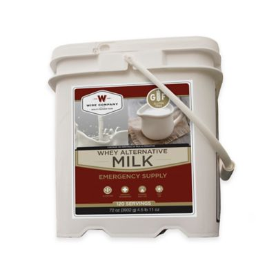 Wise Foods Company 120 Serving Grab and Go Milk Bucket
