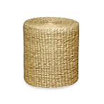 Emissary Round Stool/Table with Hyacinth Wrap