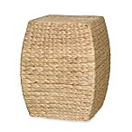 Emissary Arc Stool/Table with Hyacinth Wrap