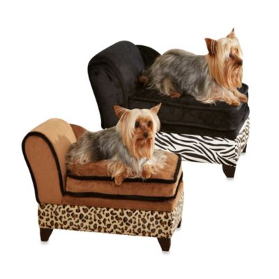 Enchanted Home Pet Ultra Plush Storage Beds in Animal Print