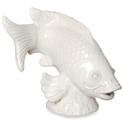 Large Koi Fish Sculpture