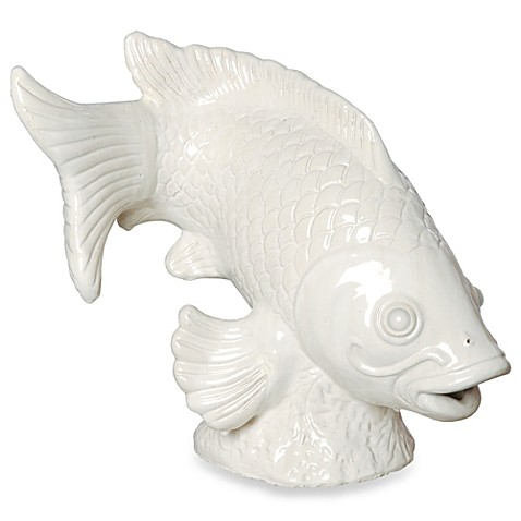 Buy emissary large koi fish sculpture from bed bath beyond for Koi fish retailers