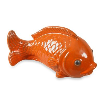 Swimming Fish Sculpture