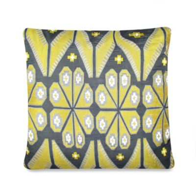 Ethnic Square Throw Pillow