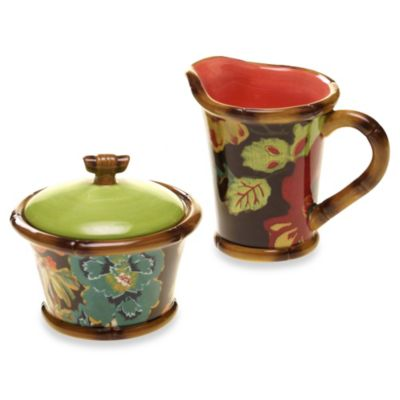 Tracy Porter® Poetic Wanderlust® Eden Ranch Sugar & Creamer Set