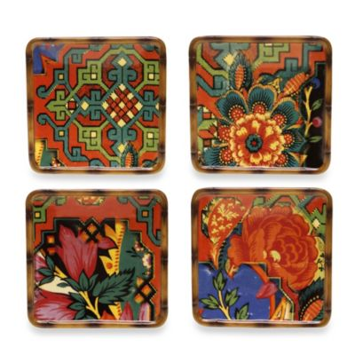 Tracy Porter® Poetic Wanderlust® Eden Ranch Canape Plates (Set of 4)
