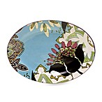 Certified International Tracy Porter Oval Platter for Poetic Wanderlust in Rose Boheme