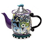 Certified International Tracy Porter Teapot for Poetic Wanderlust in Rose Boheme