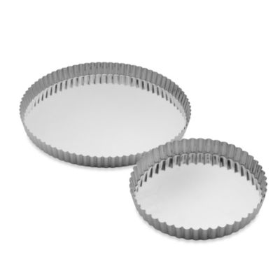 Gobel Tinned-Steel Round Quiche Pan