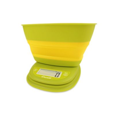 Escali® Pop-Up Digital Food Scale in Yellow