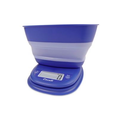 Escali® Pop-Up Digital Scale in Blue
