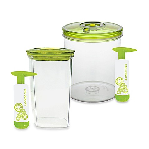 Vacucraft 174 Juice Saver Vacuum Sealed Juice Container With