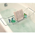 Better Sleep Cross Tub Caddy in Stainless Steel