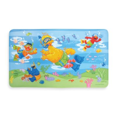 Sesame Street Decorative Bathtub Mat