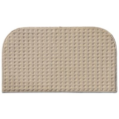 Herald Square Kitchen Rug in Ivory