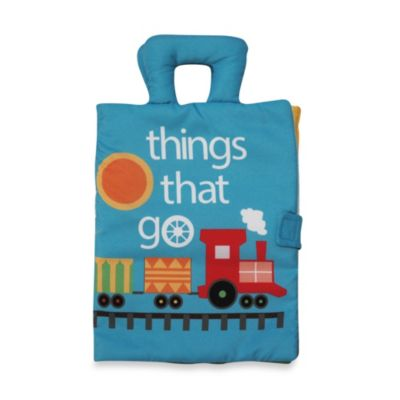 Alma's Designs Things That Go Soft Fabric Book