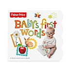Fisher-Price® Baby's First Words Board Book