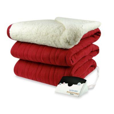 Burgundy Blankets