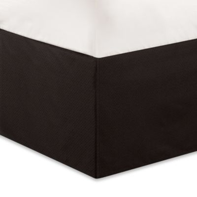 Natori Dynasty Bed Skirt in Dark Chocolate