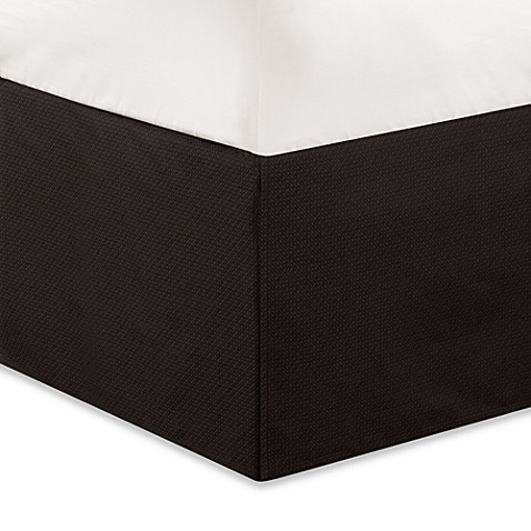 Natori Dynasty California King Bed Skirt in Dark Chocolate