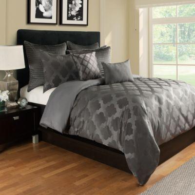 Tangiers Standard Pillow Sham in Grey