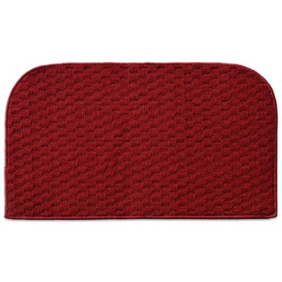 Town Square Kitchen Rug in Red