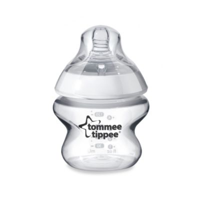 Tommee Tippee® Closer to Nature® 5-Ounce Clear Baby Bottle
