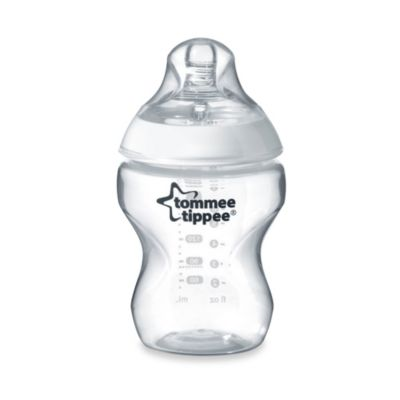 Tommee Tippee® Closer to Nature® 9-Ounce Clear Baby Bottle