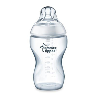 Tommee Tippee® Closer to Nature® 11-Ounce Added Cereal Clear Bottle