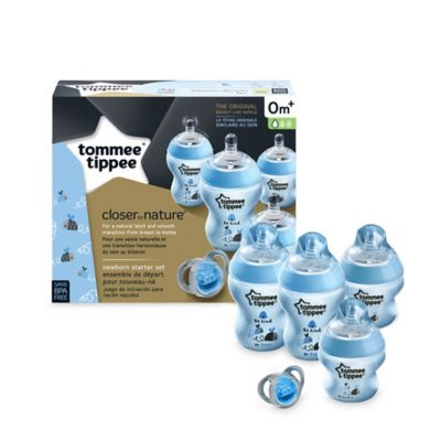 Tommee Tippee® Closer to Nature® Newborn Starter Set in Green