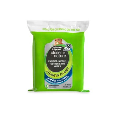 Tommee Tippee® Closer to Nature® 30-Count Pacifier Wipes
