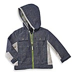 Wendy Bellissimo™ Chambray and Nylon Hooded Jacket
