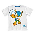 Adidas® 2014 FIFA World Cup Brazil™ Fuleco Mascot T-Shirt in White