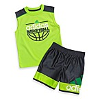 Adidas® B-Ball Set in Slime Green