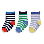 Carter's® 3-Pack Striped Computer Socks