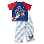 Mickey Mouse 2-Piece All Star League Baseball Uniform PJs