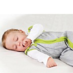 Baby Deedee Sleep Nest Lite in Heather Grey Lime