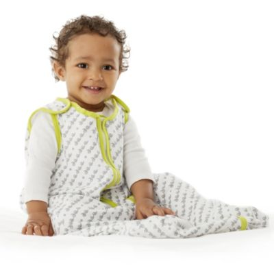 Baby Deedee® Sleep Nest® Lite Size 0-6 Months in Print & Lime