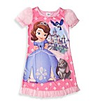 Sofia the First Ruffle and Bow Night Gown