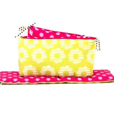 Belle Lil' Ladybug Crib Bumper